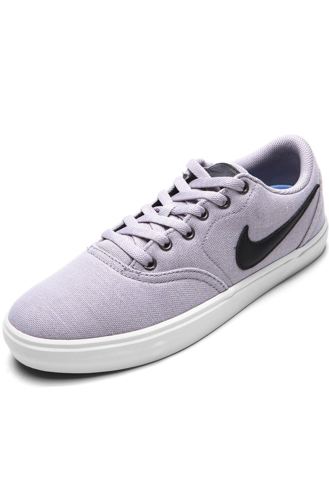 Tenis Nike Sb Sb Check Solar Cnvs Prm Cinza Tenis Nike Sb Nike Sb E Tenis Nike