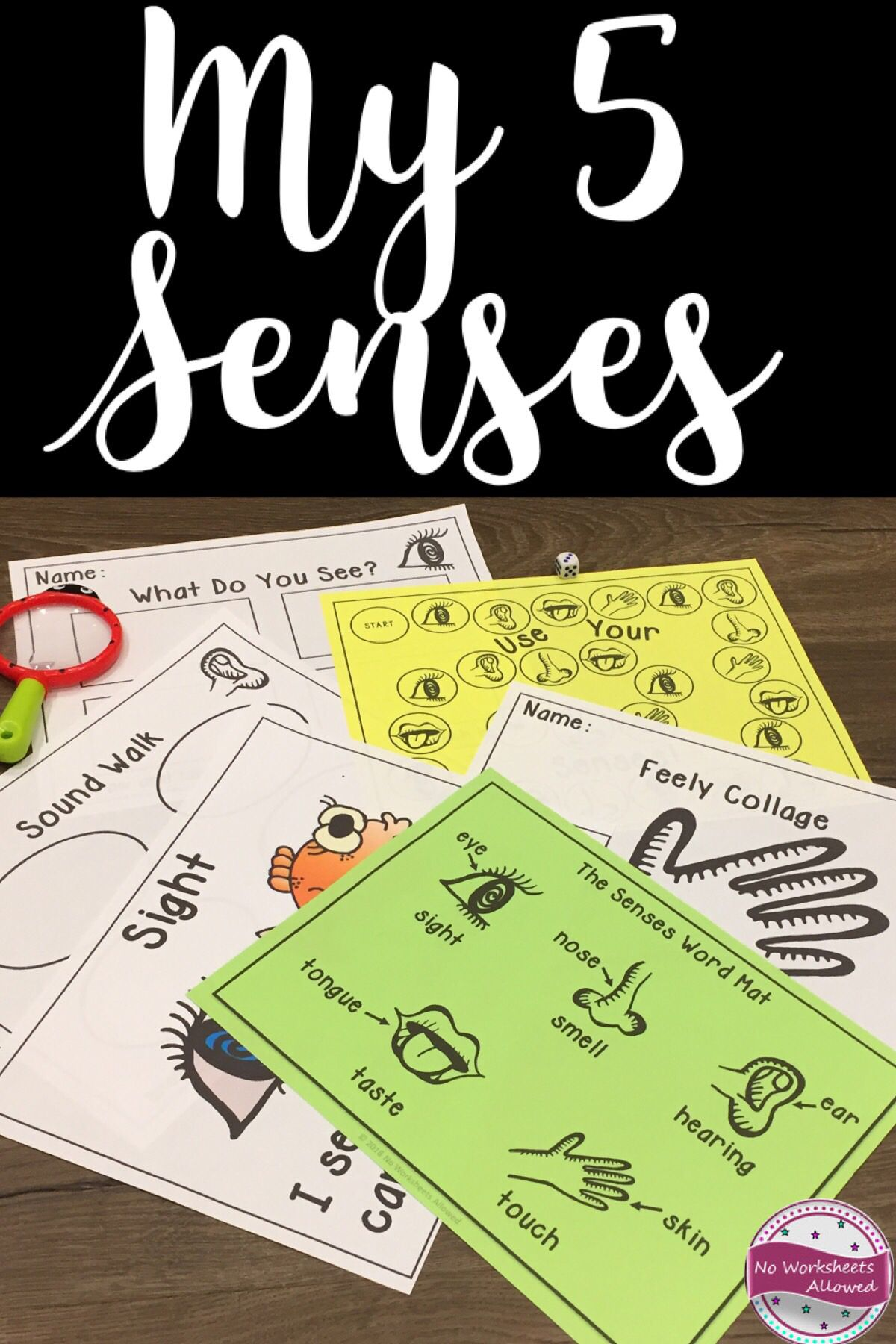 The Five Senses Science Activities Game And Emergent