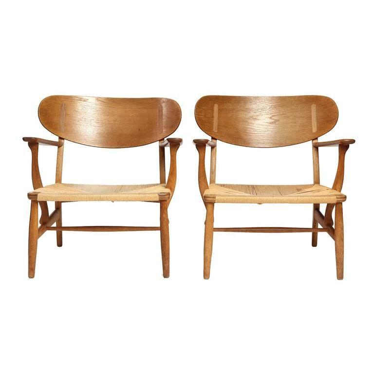 About A Chair 22 Armchair.Ch 22 Armchair By Hans J Wegner Furniture Armchair Chair