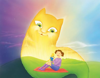 """Check out new work on my @Behance portfolio: """"Lucky The Cat"""" http://be.net/gallery/46336393/Lucky-The-Cat"""