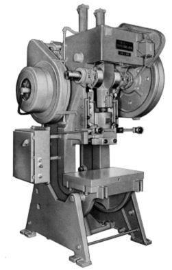 south bend johnson obi 60 power press parts manual old rh pinterest com 600 Ton Eccentric Press 2 Ton Obi Press