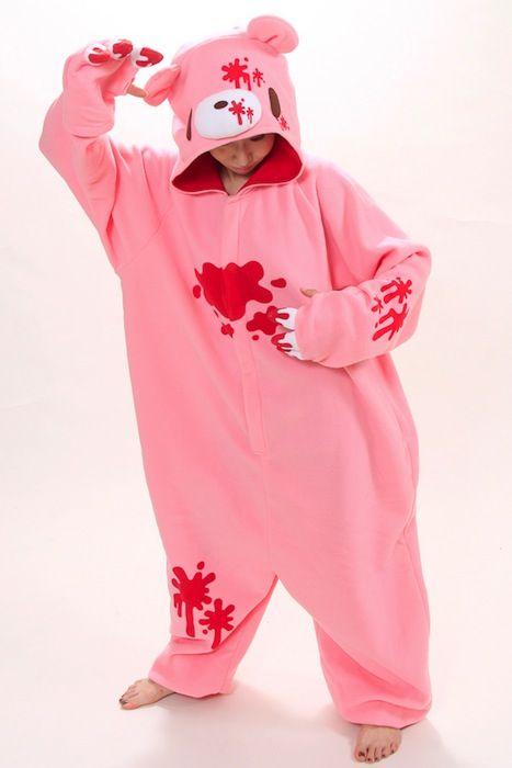GLOOMY bear PINK kigurumi (AW)