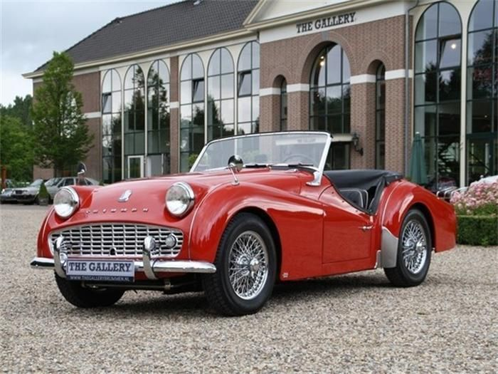 1969 Triumph TR3 | My Dream Rides | Vintage sports cars, British