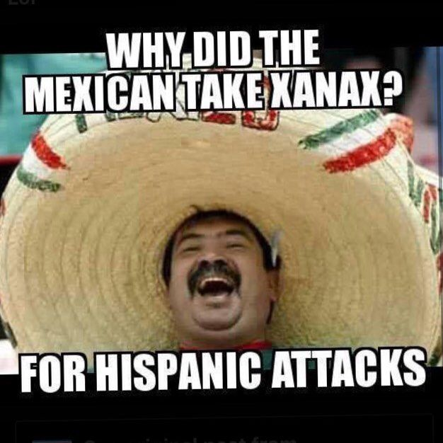 Funny Gay Mexican Meme : Mexican word of the day hispanic attacks juan s