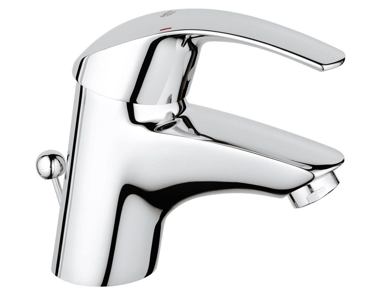 Grohe eurosmart mix lavabo cromo iperceramica rubinetti bagno