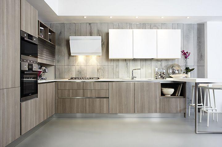 Cucine design contemporaneo cucine componibili laminato bordo ...