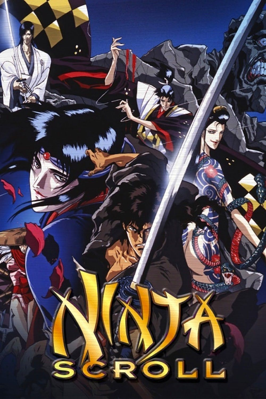 Ninja Scroll 1993 Thriller Action Dir Yoshiaki Kawajiri Ninja Scroll Anime Anime Ninja Anime Movies