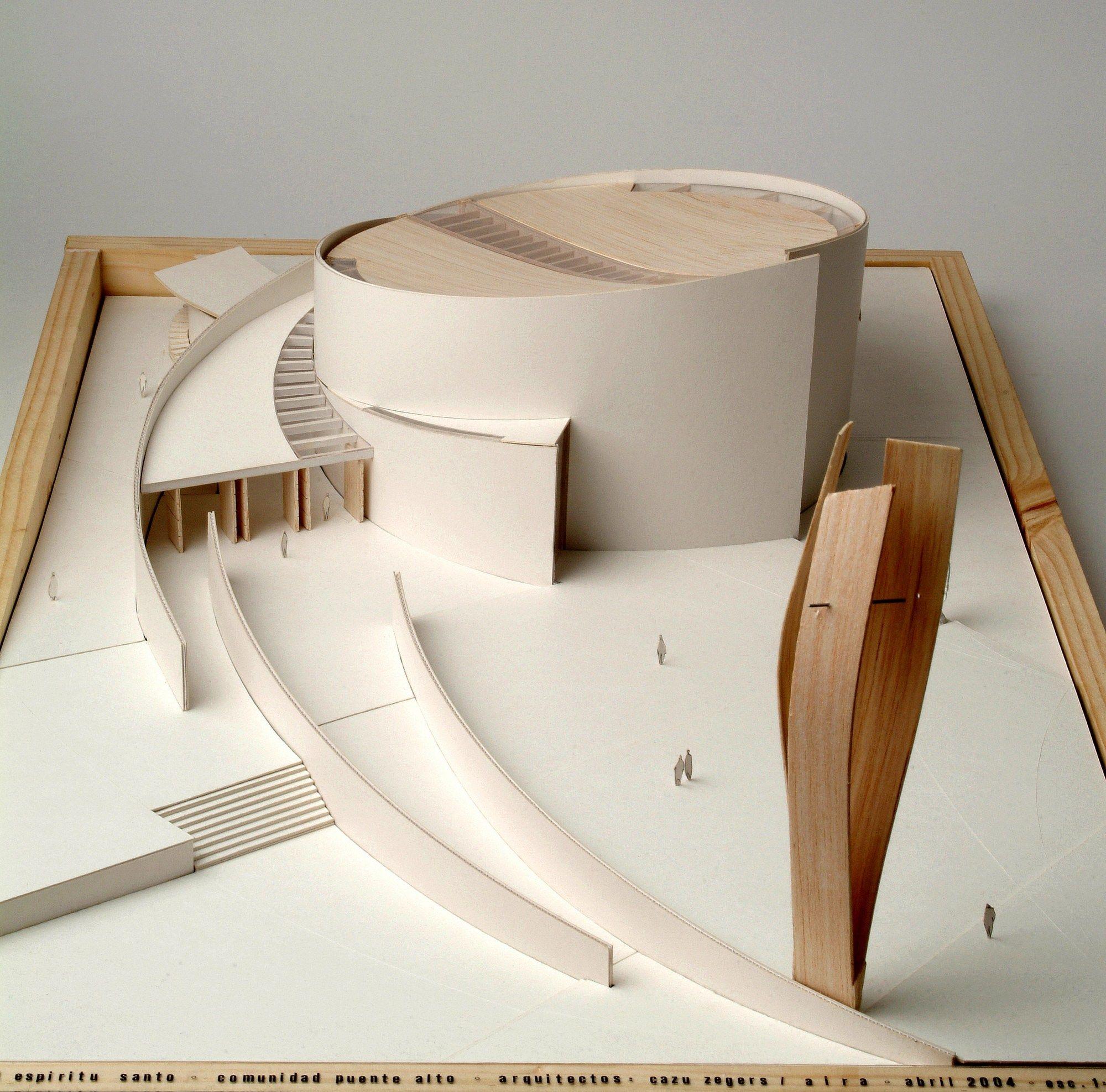 Imagen 9 de 29 de la galería de Capilla del Espíritu Santo / Cazú Zegers. Maqueta
