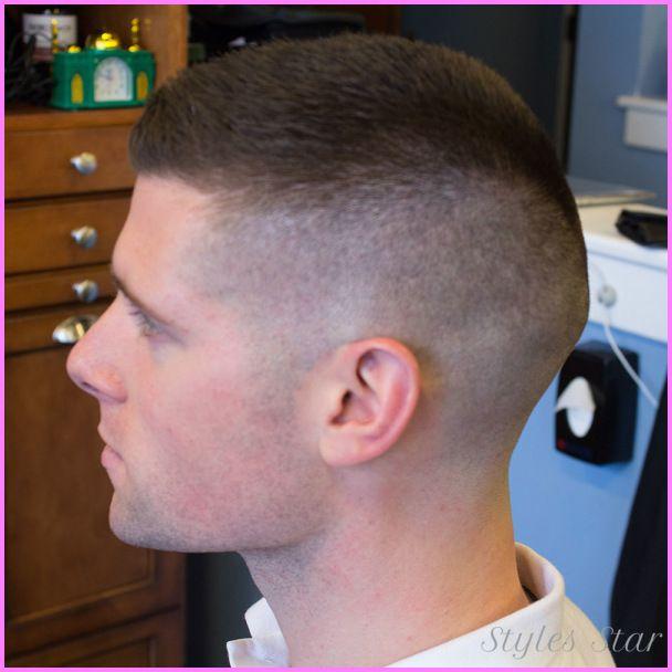 Awesome Medium Fade Haircut Military