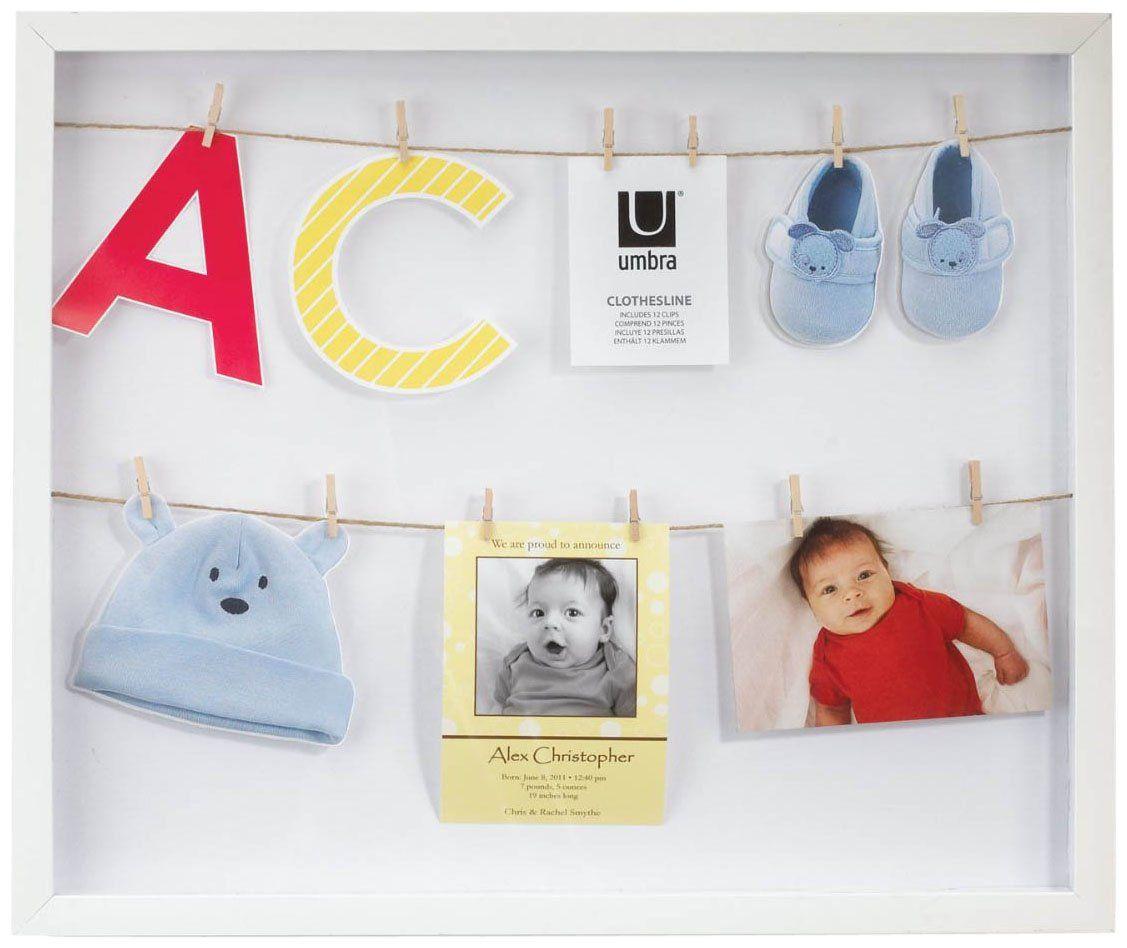 Clothesline Photo Display White Casa Com With Images