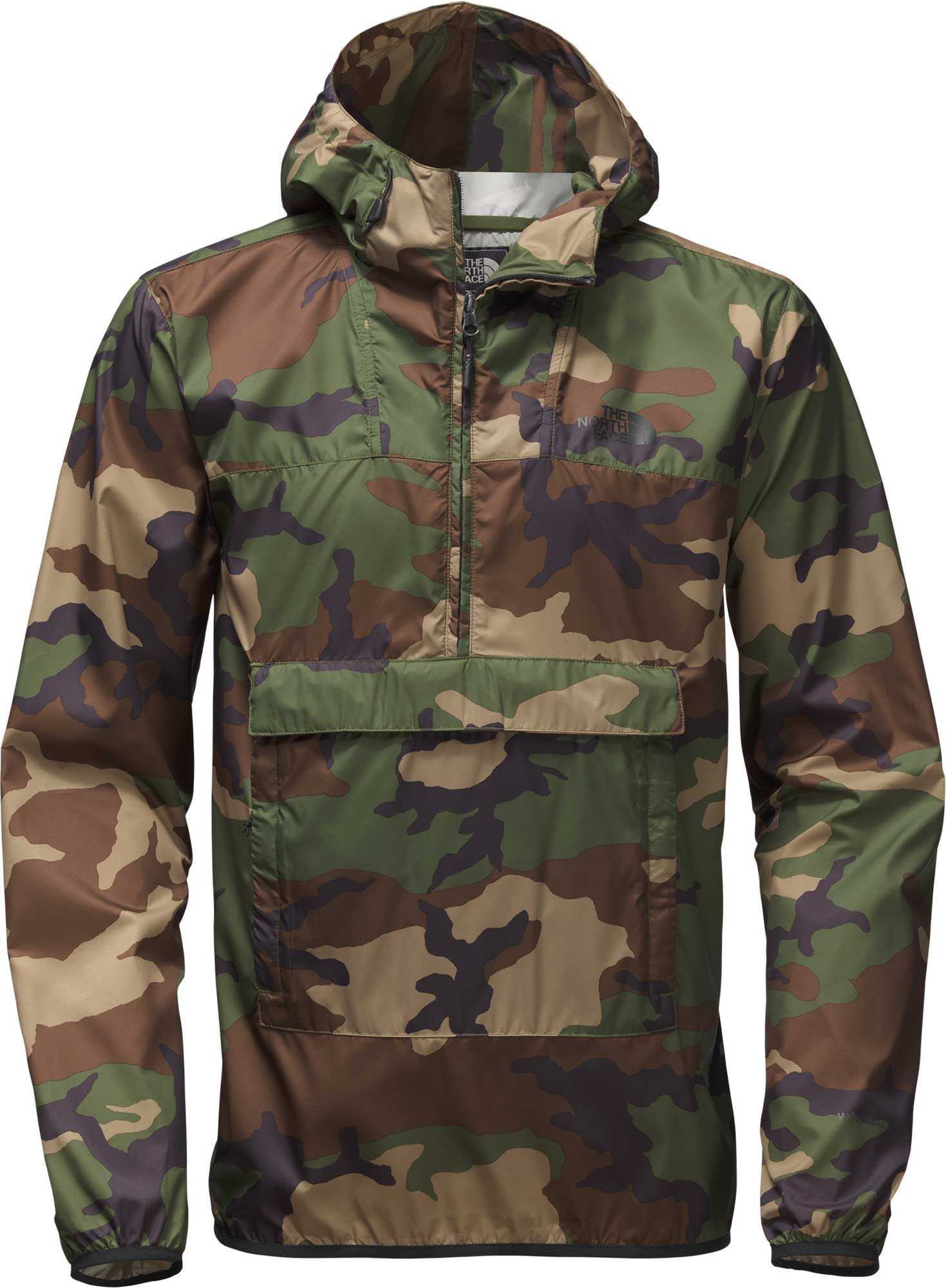 2342abf1b The North Face Men's Fanorak Pullover Jacket | Products | Camo ...