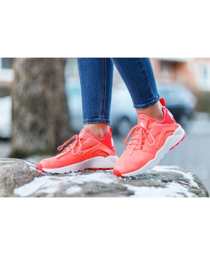 7a7177dc2de2e Nike Air Huarache Run Ultra Bright Mango Trainers