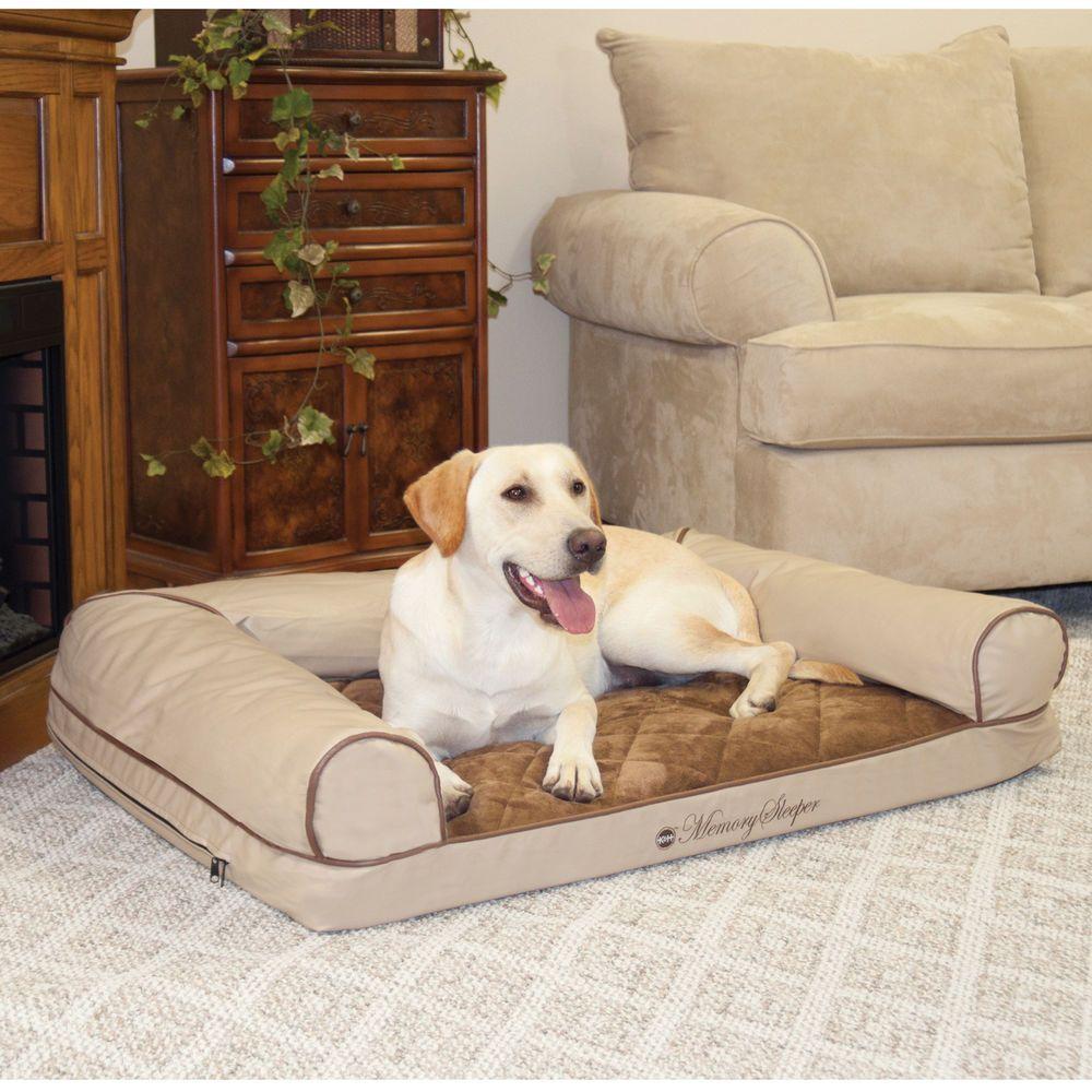 Cozy Sofa Memory Foam Orthopedic Dog Pet Bolster Bed Pet Sofa Bed Pet Sofa Dog Sofa