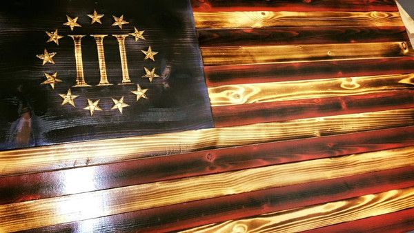 Products Wooden American Flag American Theme Wood Flag
