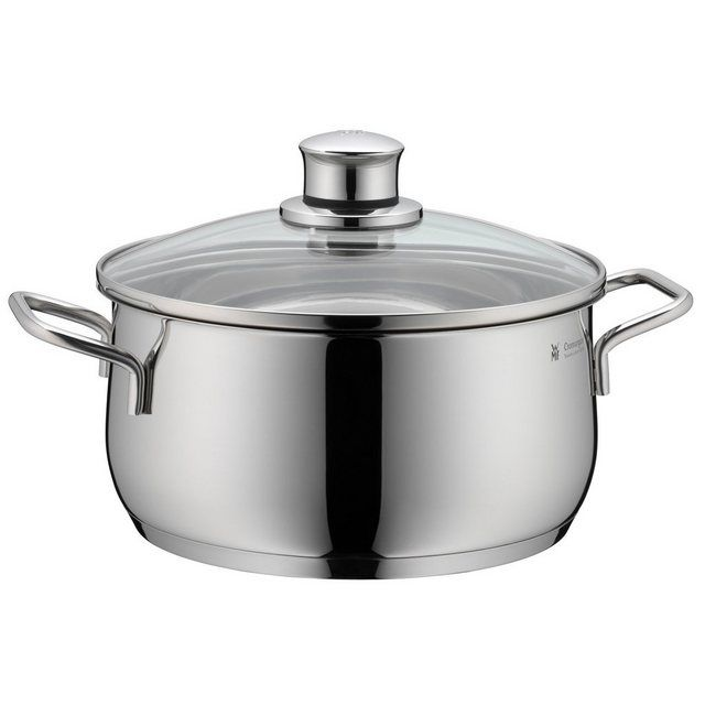 Photo of WMF saucepan, induction, glass lid, Cromargan stainless steel 18 / …