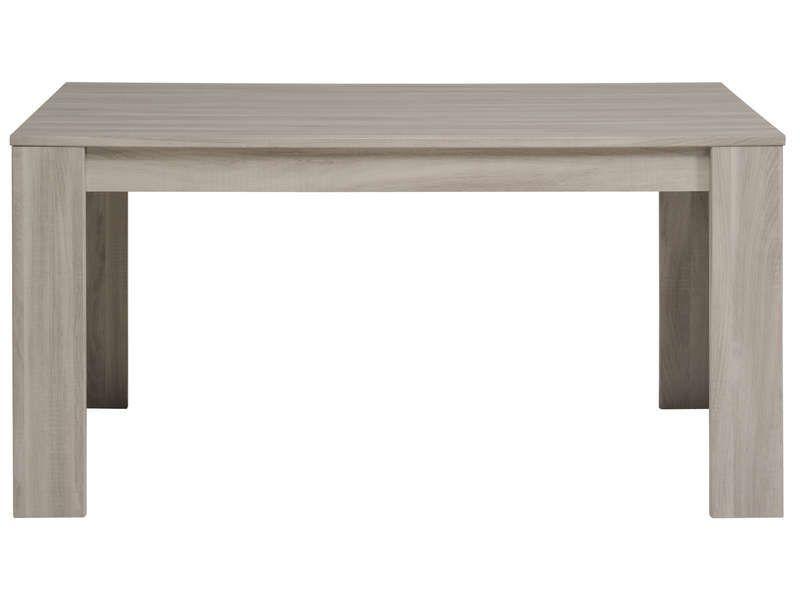Table rectangulaire 160 cm (allonge en option) Canape salon - conforama chaises salle a manger