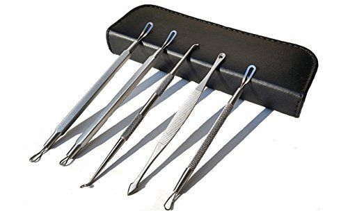 DINGANG Blackhead Extractor Tool Set for Facial Acne and Comedones by DINGANG *** You can get more details by clicking on the image.