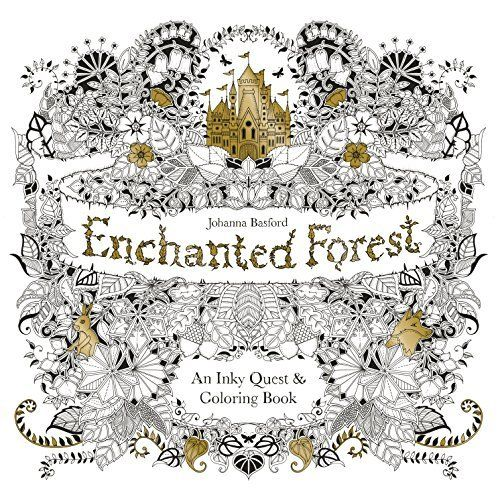 Free Download Enchanted Forest An Inky Quest Coloring Book