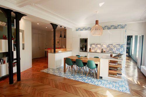 Cet appartement se situe dans le nouveau quartier tendance de Paris