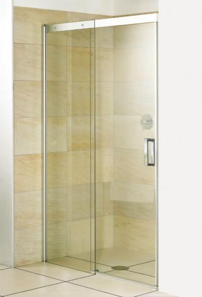 Breuer Breuer Duschabtrennung Panorama Schiebetür 8 mm für Nische - schiebetüren für badezimmer