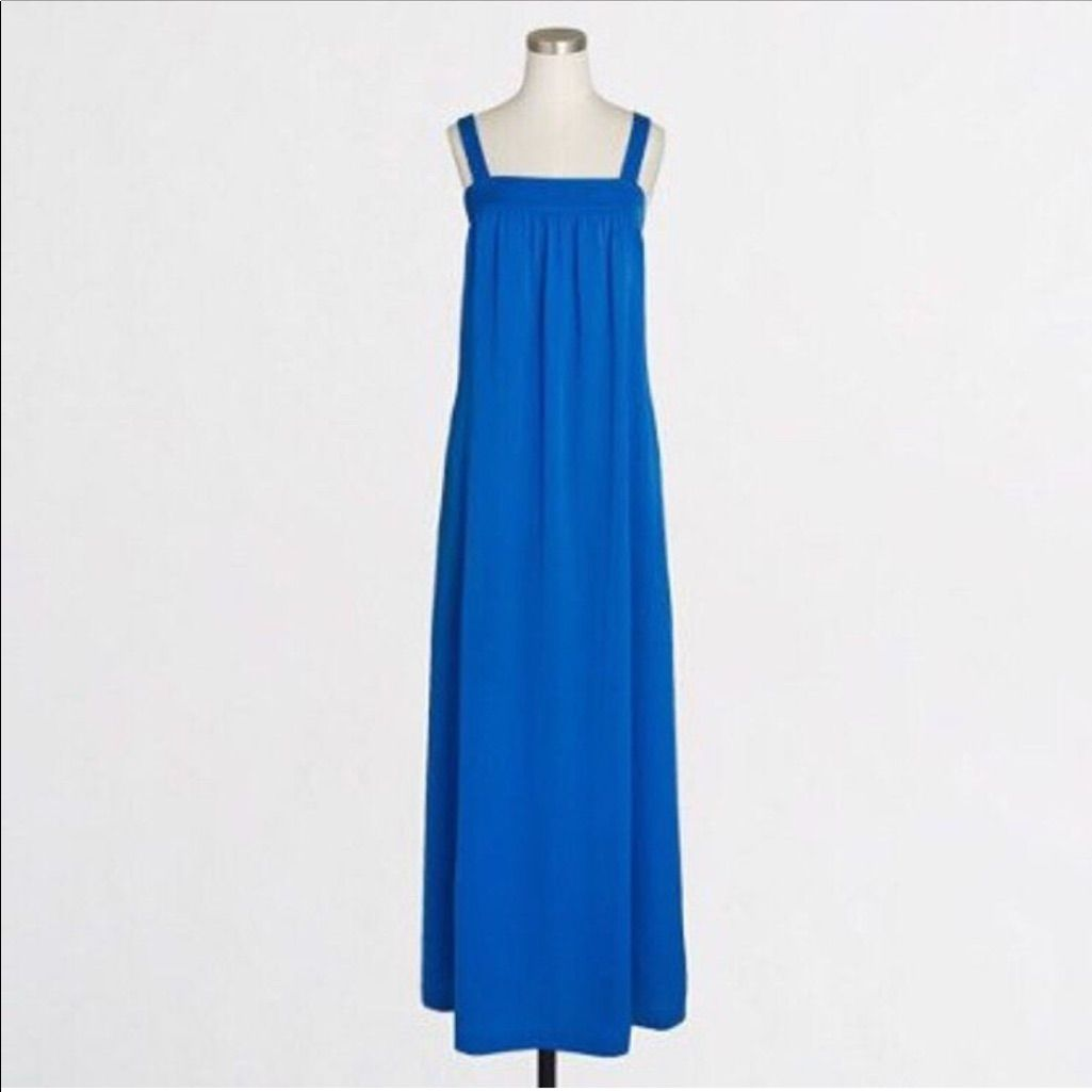 J crew long blue azure maxi products