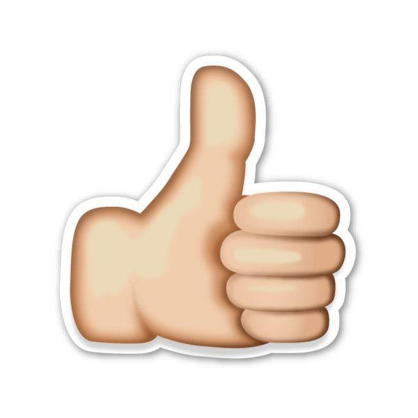 Thumbs Up Sign Like Emoji Thumbs Up Sign Emoji