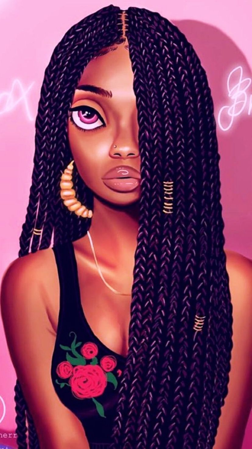 Pin On Black Girl Magic Art