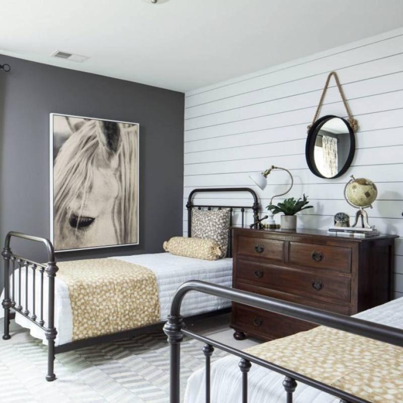 51 Rustic Farmhouse Bedroom Decor Ideas Farmhouse Bedroom Decor