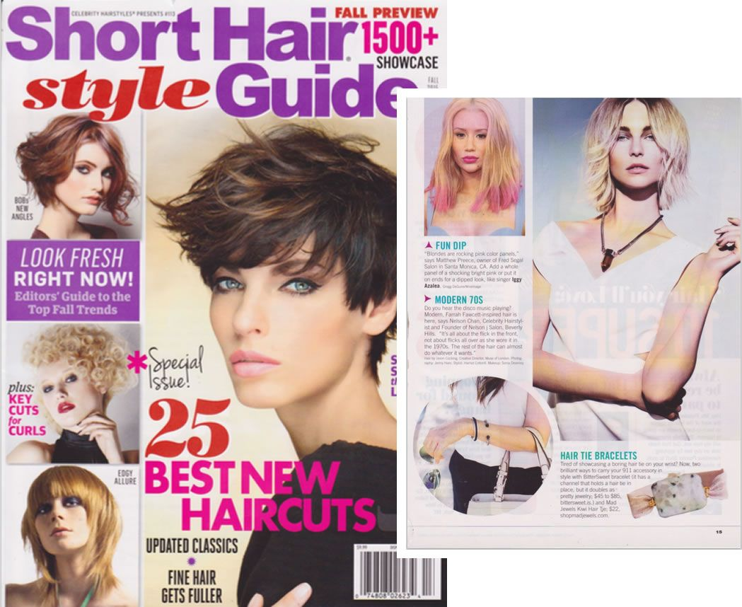 Bittersweet Is Featured In The Fall Edition Of Short Hair Style