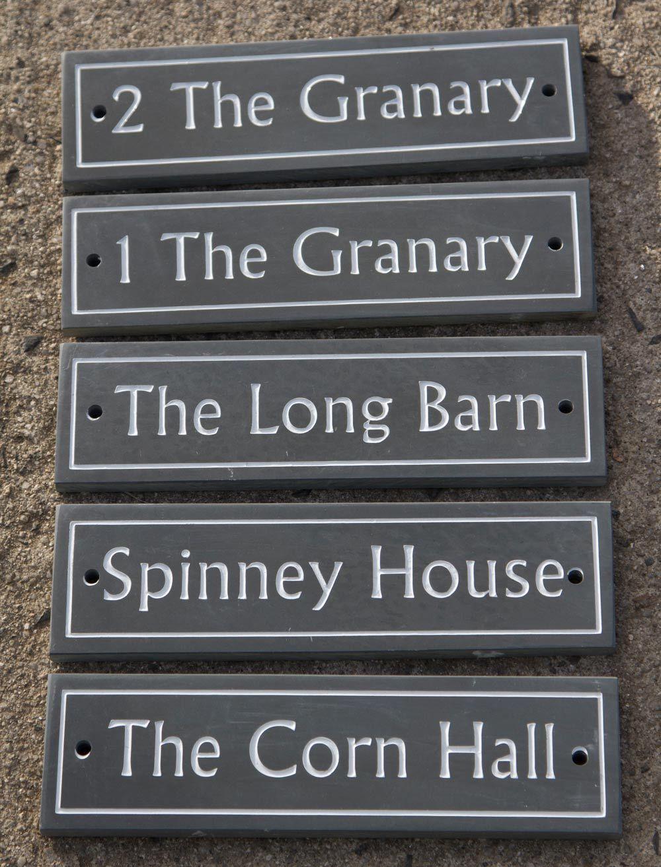 Slate House Signs Slate Name Plates The Sign Maker House