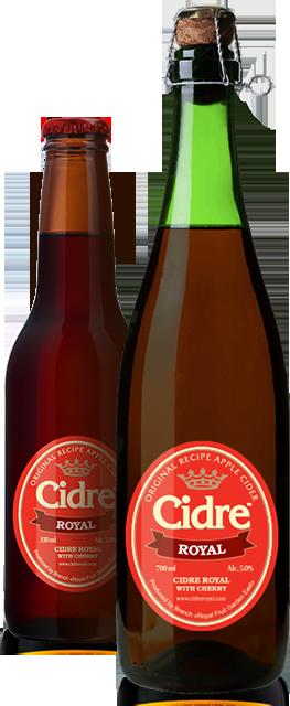 Сидр Cidre Royal with Cherry (с вишней)