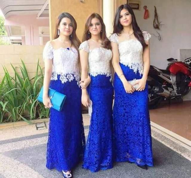 Model Kebaya Seragaman Untuk Anak Muda Kebaya Dresses Batik