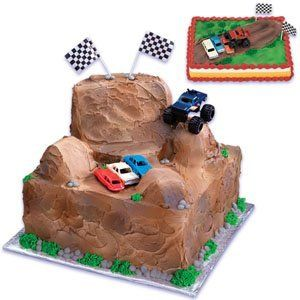 Monster Truck Cake Decorating Kit by Cake Decorating, http://www.amazon.com/dp/B005M22Z1S/ref=cm_sw_r_pi_dp_xqOqqb0F9D6AW