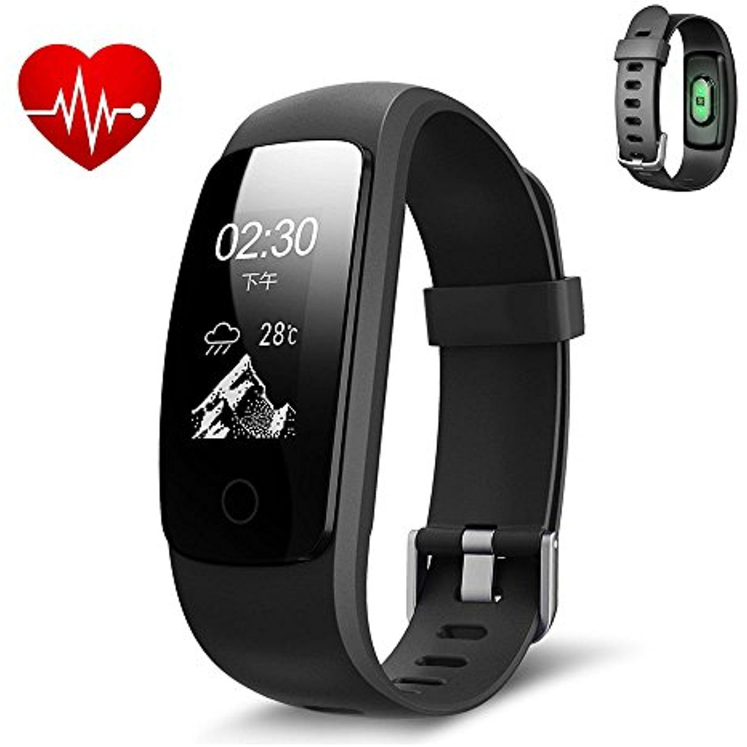 pin watches new tracker watch wristband agptek bracelet waterproof fitness bluetooth smart