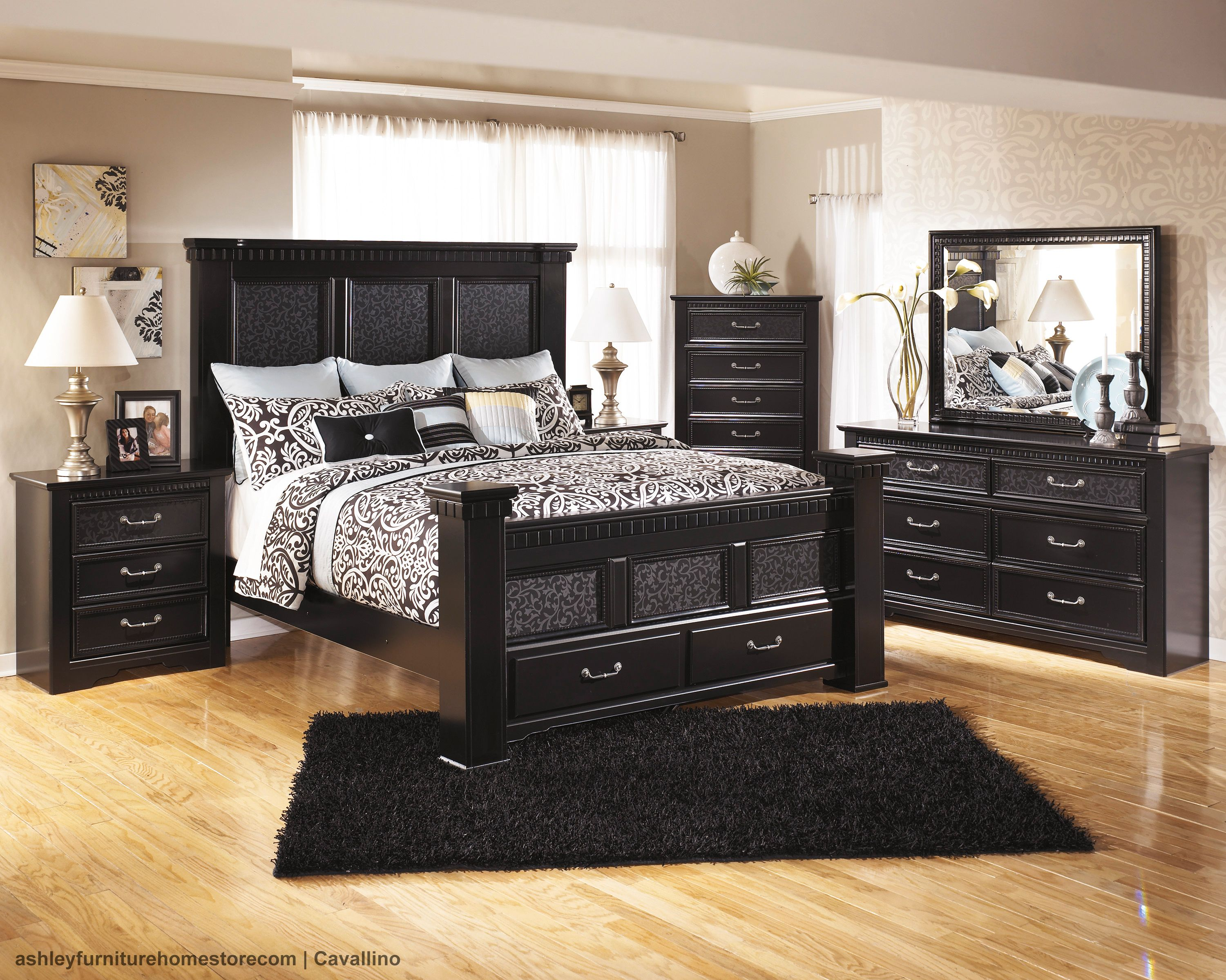 Pair Dark Furniture With Light Accents So Your Room Never Feels