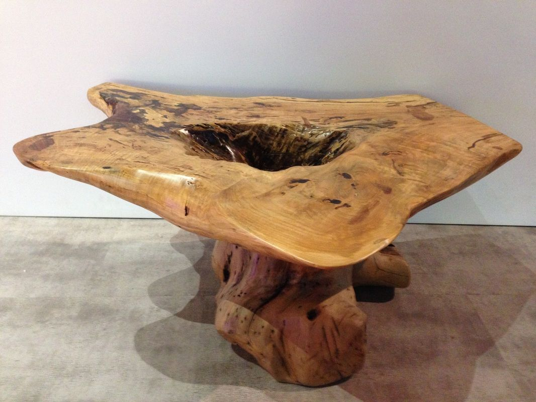 Hand crafted coffee table by Karma Cave