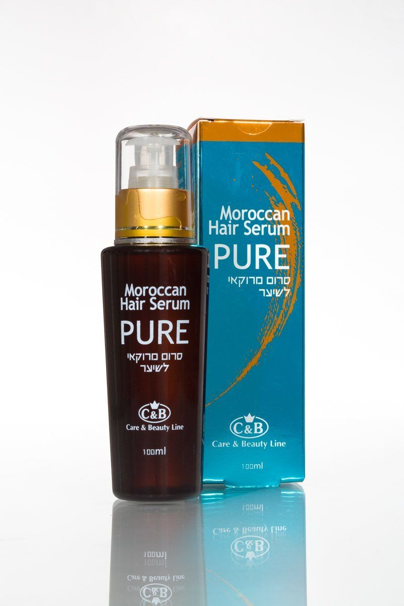 Pure Moroccan Argan OIL for Hair 100ml/3.4oz Serum with