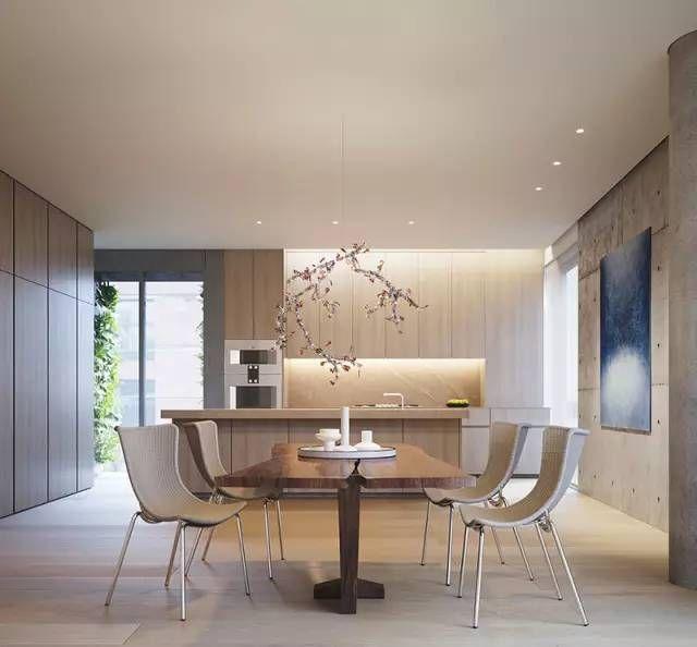 Manhattan Apartment Kitchen Design: 安藤忠雄新作 伊丽莎白街152号豪华公寓