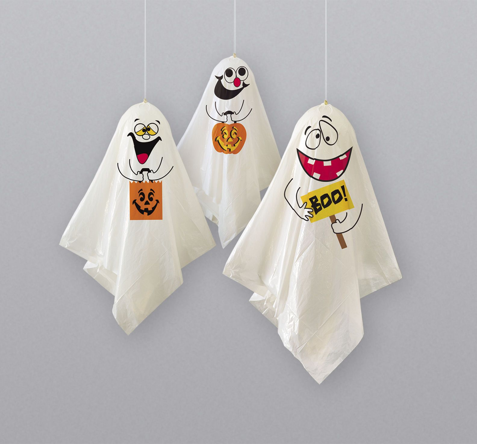 Ghost hanging decorations pack of 3 #halloween #party #supplies,  View more on the LINK: 	http://www.zeppy.io/product/gb/2/172352003362/