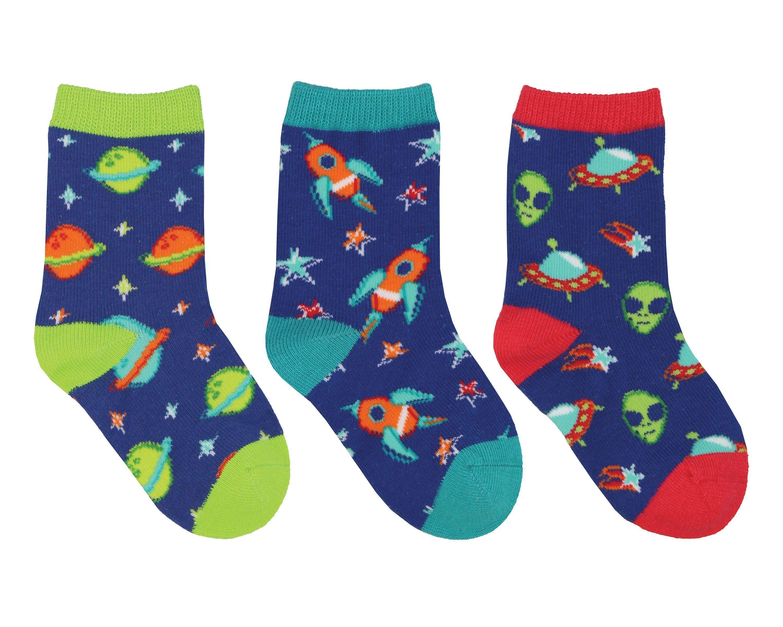 3 Pack Cute Cactus Design Socks For 1~3 Years Unisex Baby Girls Boys