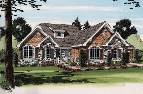 cottage style ranch house plans french country ranch - French Country Ranch House Plans