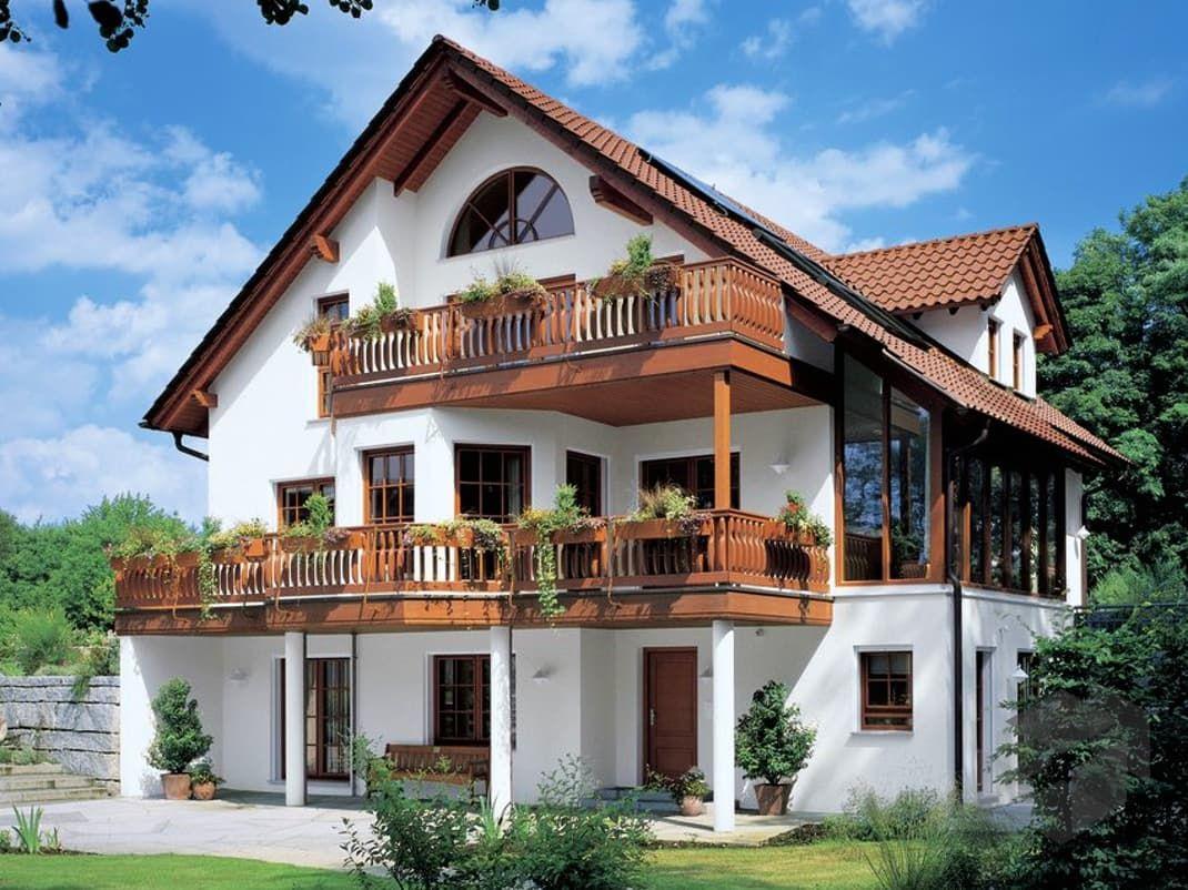 Fertighaus satteldach  Familia (MH Rheinau-Linx) von WeberHaus | Wohnfläche 254 m² ...