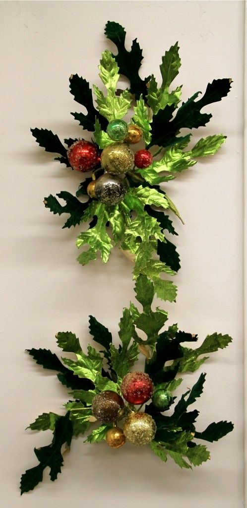 Vintage Christmas Wall Decorations (SOLD)