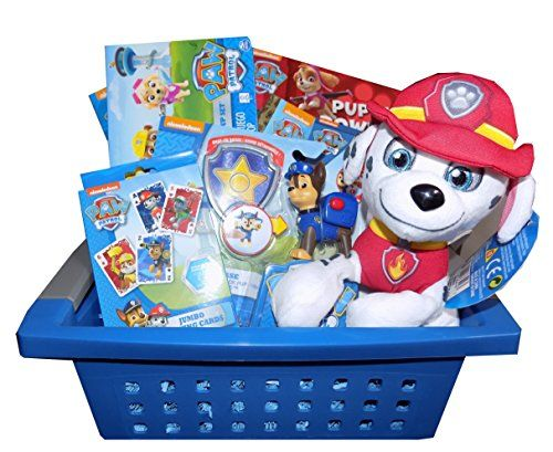 Ultimate paw patrol basket perfect for easter christmas basket ideas negle Images