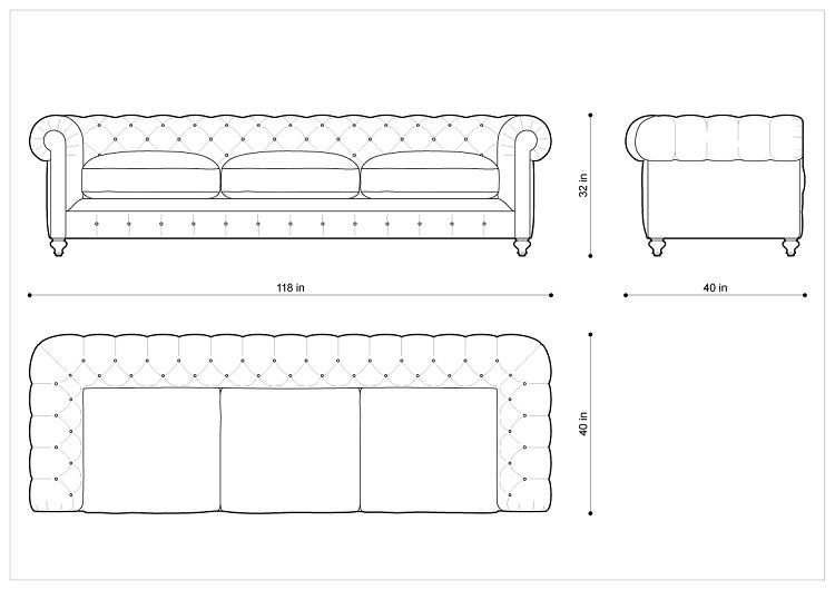 Imgs For Sofa Dimensions Inches
