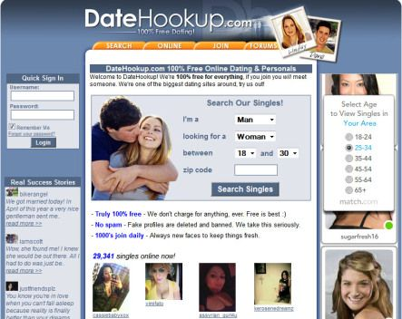 free dating sites for young singles