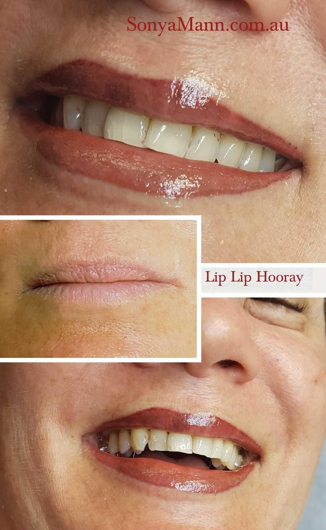 Lip lip hooray as we get older our lips lose their