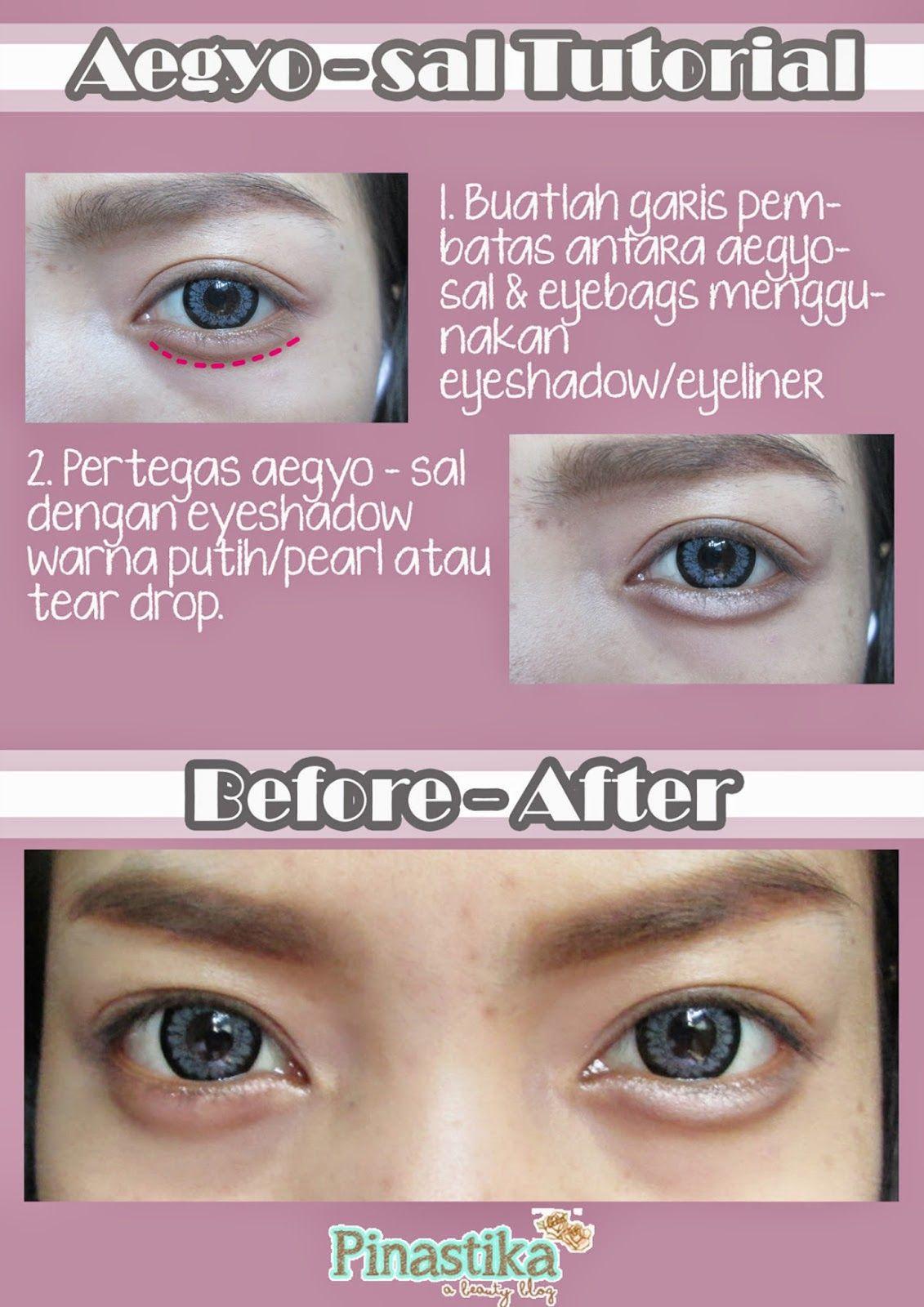 Pinastika Beauty Blog Tutorial Cara Membuat Aegyo Sal Eye Smiles Perawatan Kulit Trik Kecantikan Trik Makeup