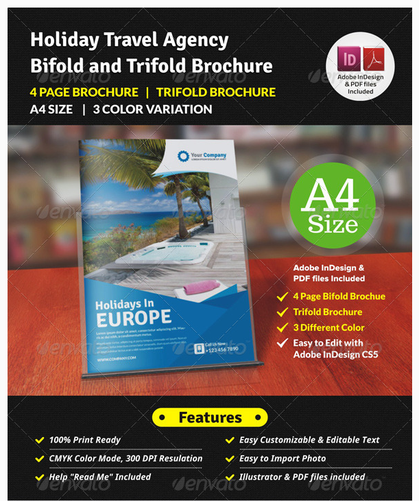 20 Travel Brochure Examples With Enticing Designs Travel Brochure