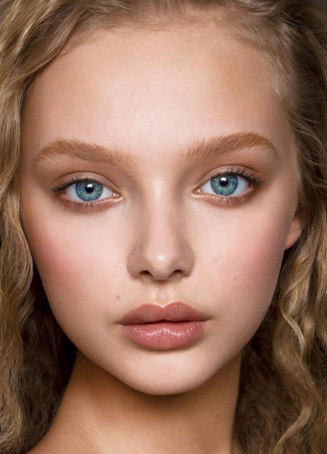 originalweddingmakeup Girls makeup, Freckles makeup